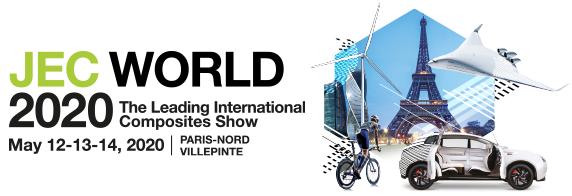 Salon Jec World à Paris du 12 au 14 mai 2020