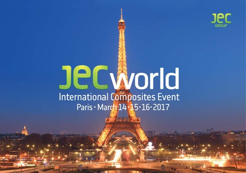 Salon Jec World à Paris du 14 au 16 mars 2017