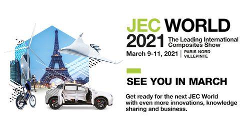 Salon Jec World à Paris du 9 au 11 mars 2021